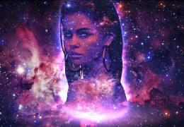 Selena Gomez Галактика - живые обои на рабочий стол