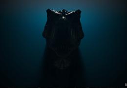 Trex динозавр - живые обои