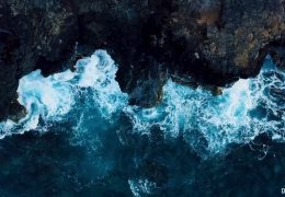 Гавайи - Hawaii - волны и скалы
