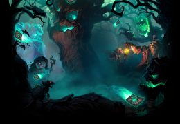 HearthStone Witchwood - живые обои