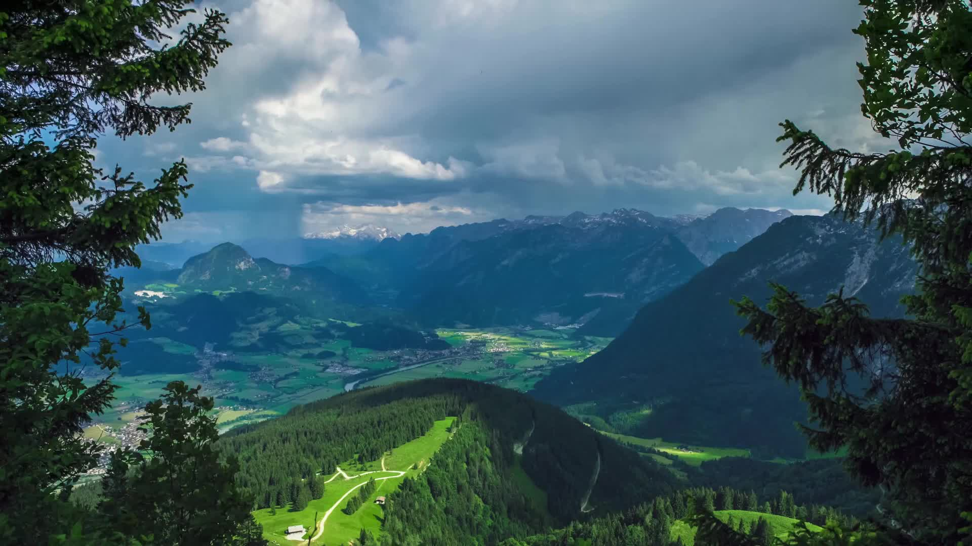 Бавария сказочный уголок в Германии - живые обои