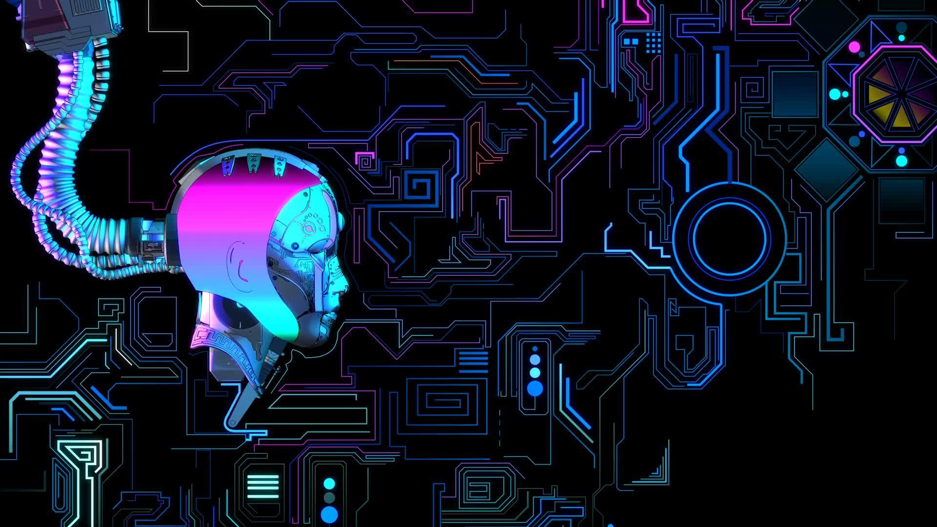 Матрица - сознание - живые обои