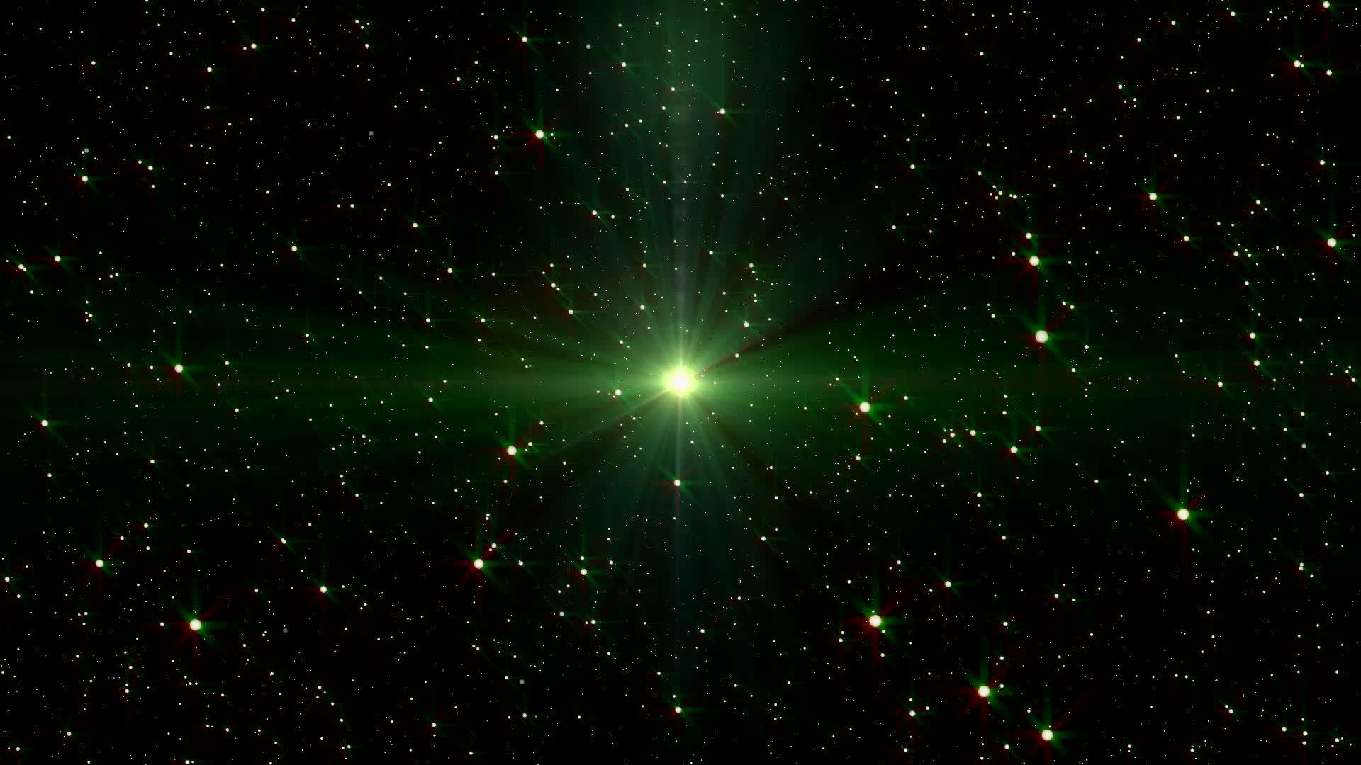 Движение частиц навстречу - живые обои