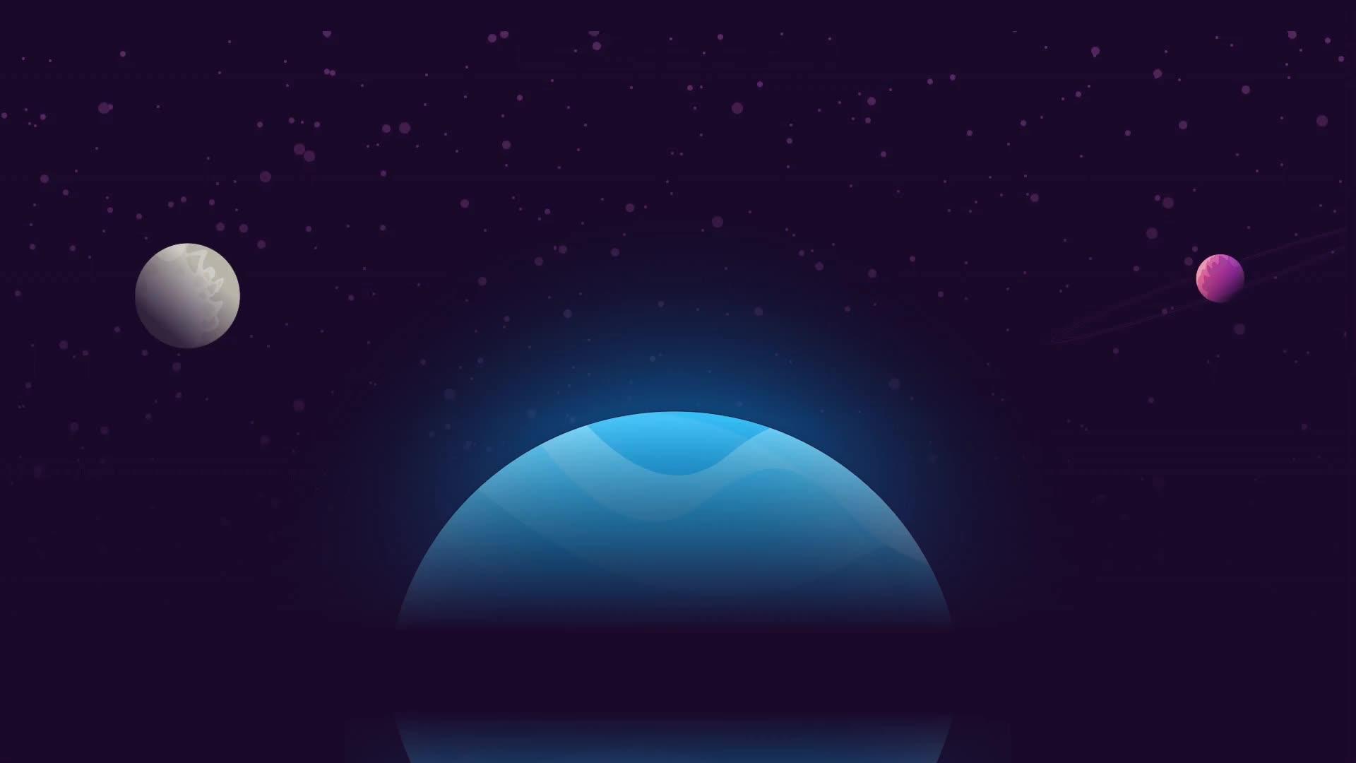 Космос планеты вселенная - живые обои