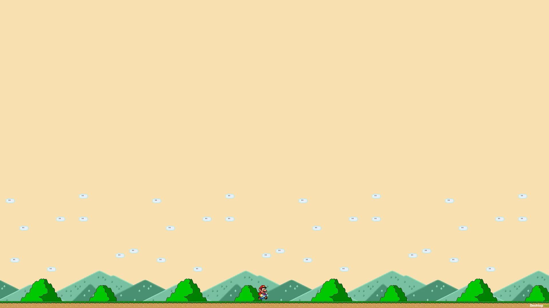 Super Mario - Супер Марио - живые обои
