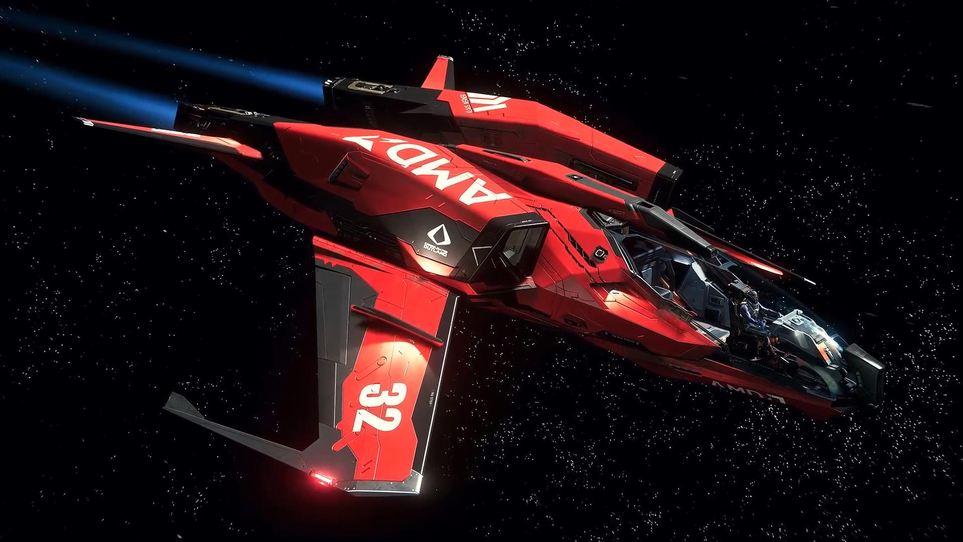 Star Citizen Mustang AMD - Живые Обои