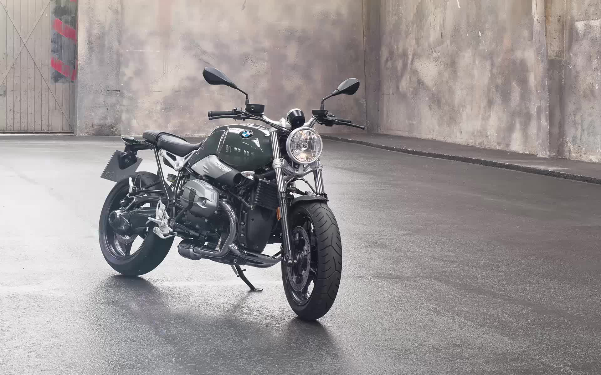 BMW Rhine T-Pure мотоцикл - живые обои