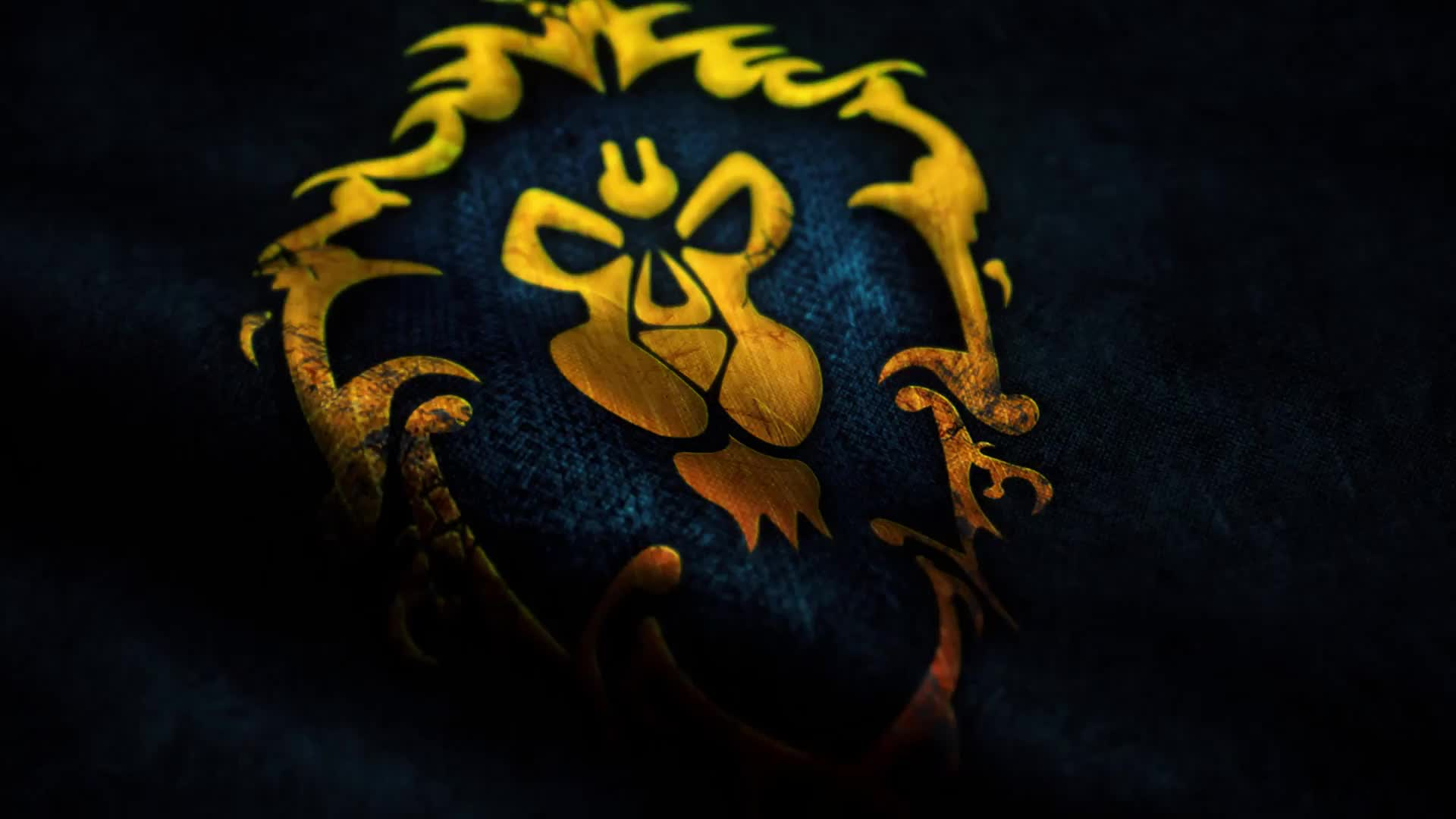 WOW Флаг победы Альянса - Живые обои