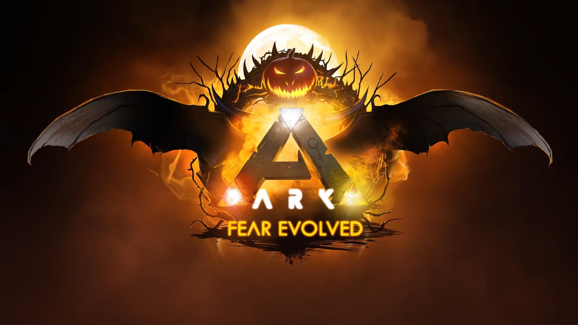 Ark Survival Evolved - Хеллоуин - живые обои с музыкальным оформлением