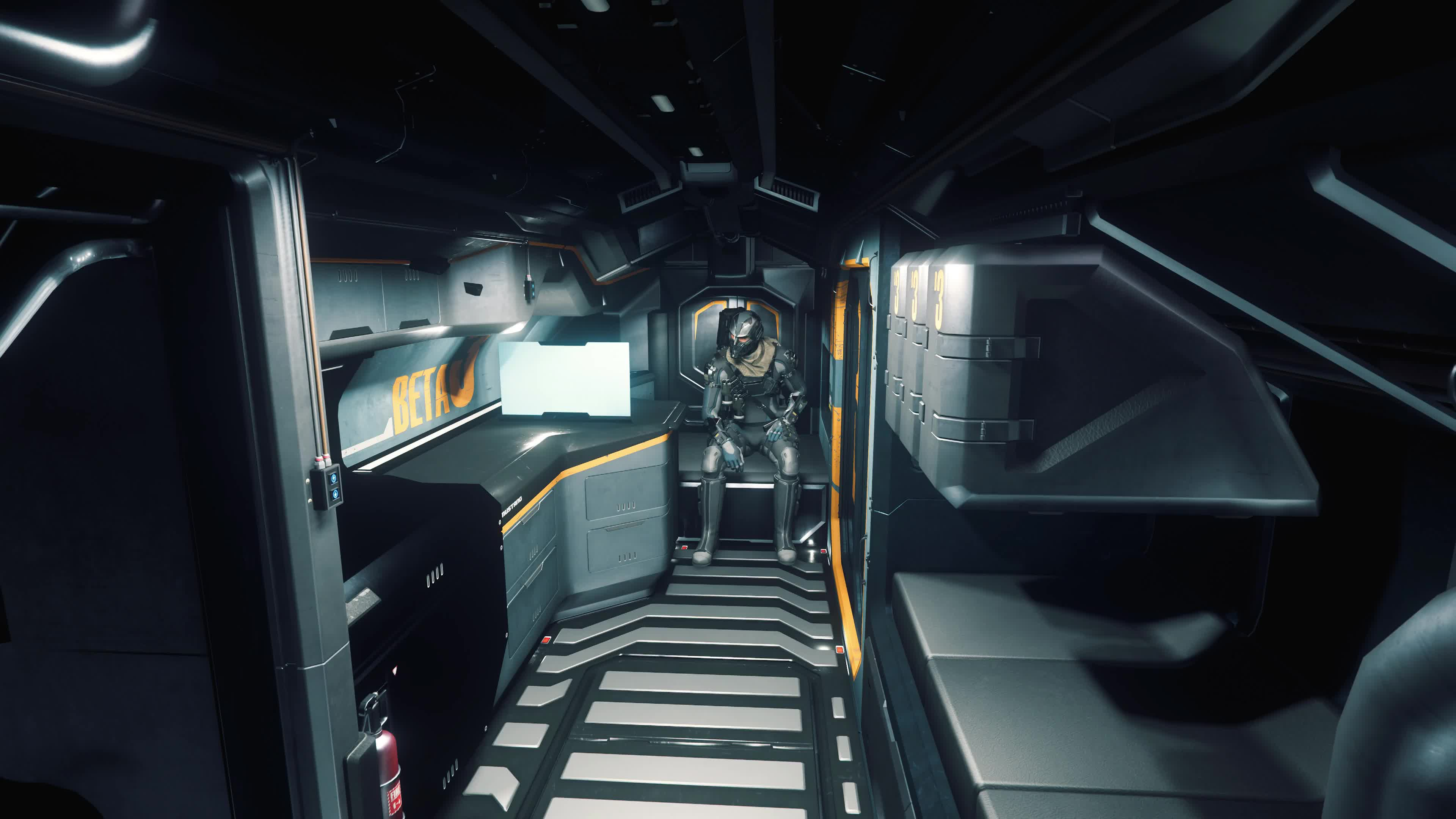 Star Citizen Beta интерьер - живые обои