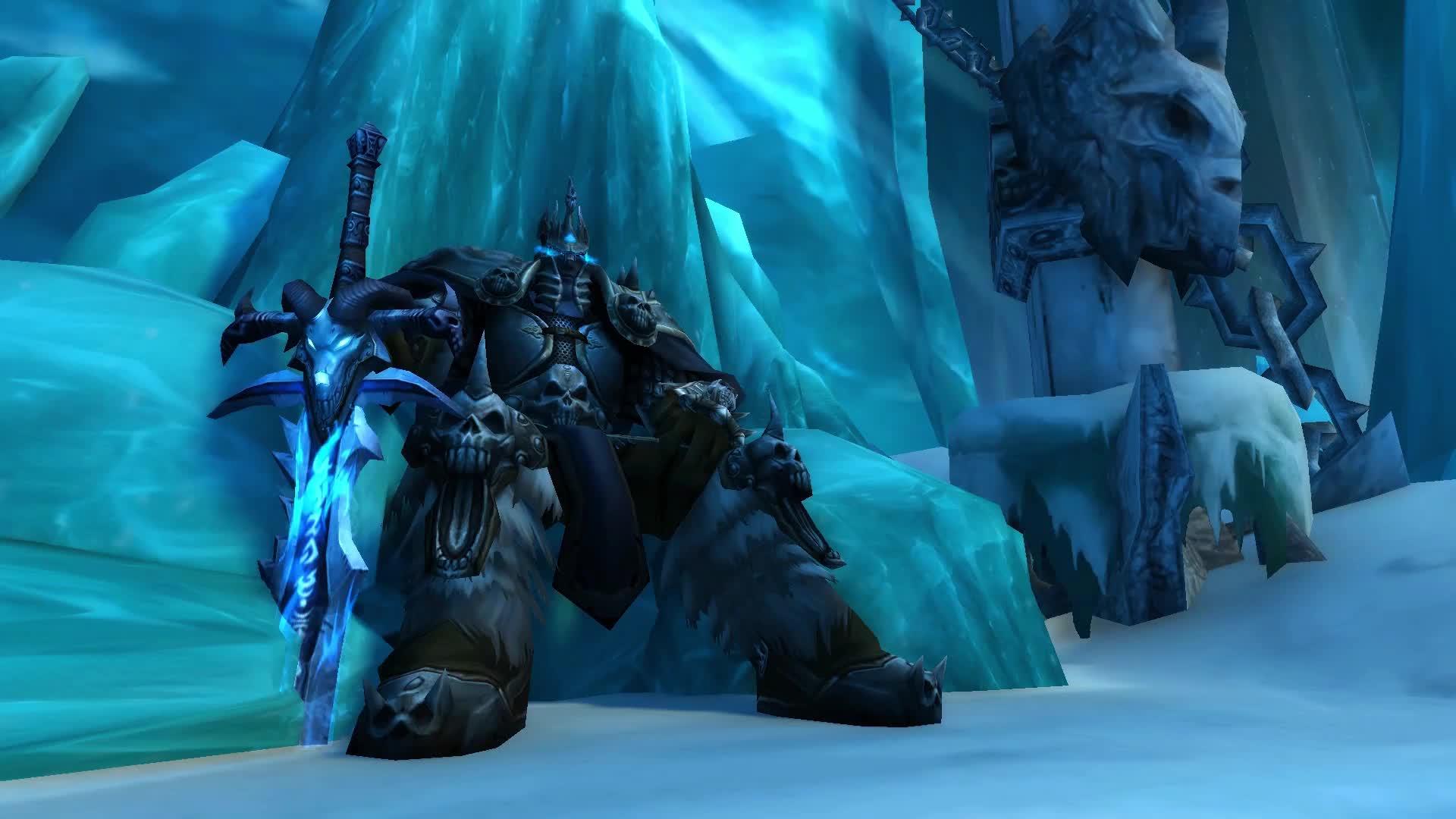 The Frozen Throne - Warcraft - Живые Обои