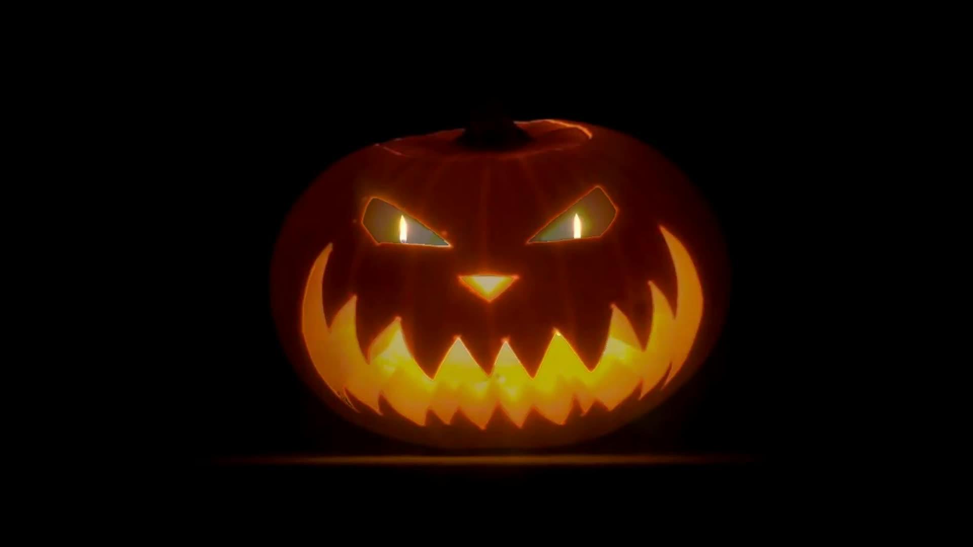 Злой Хеллоуин - живые обои