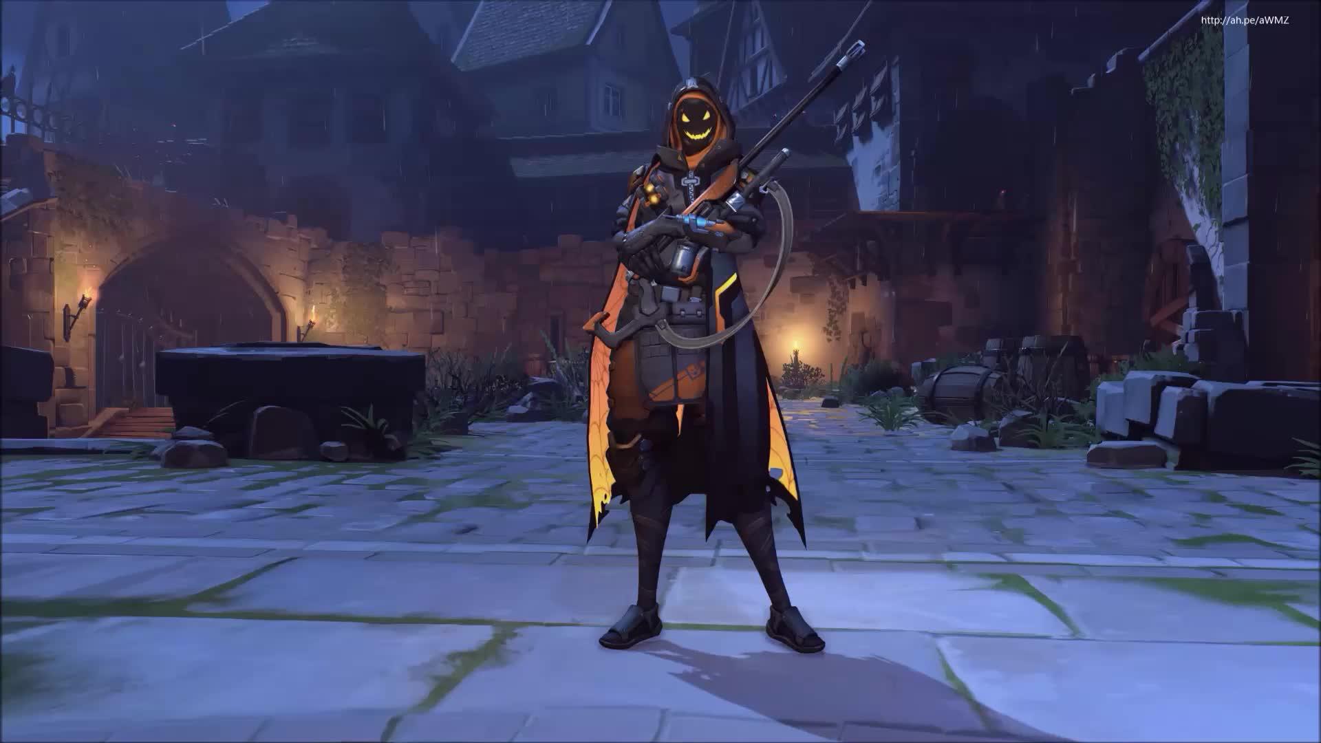 Ana скин на Хеллоуин - живые обои
