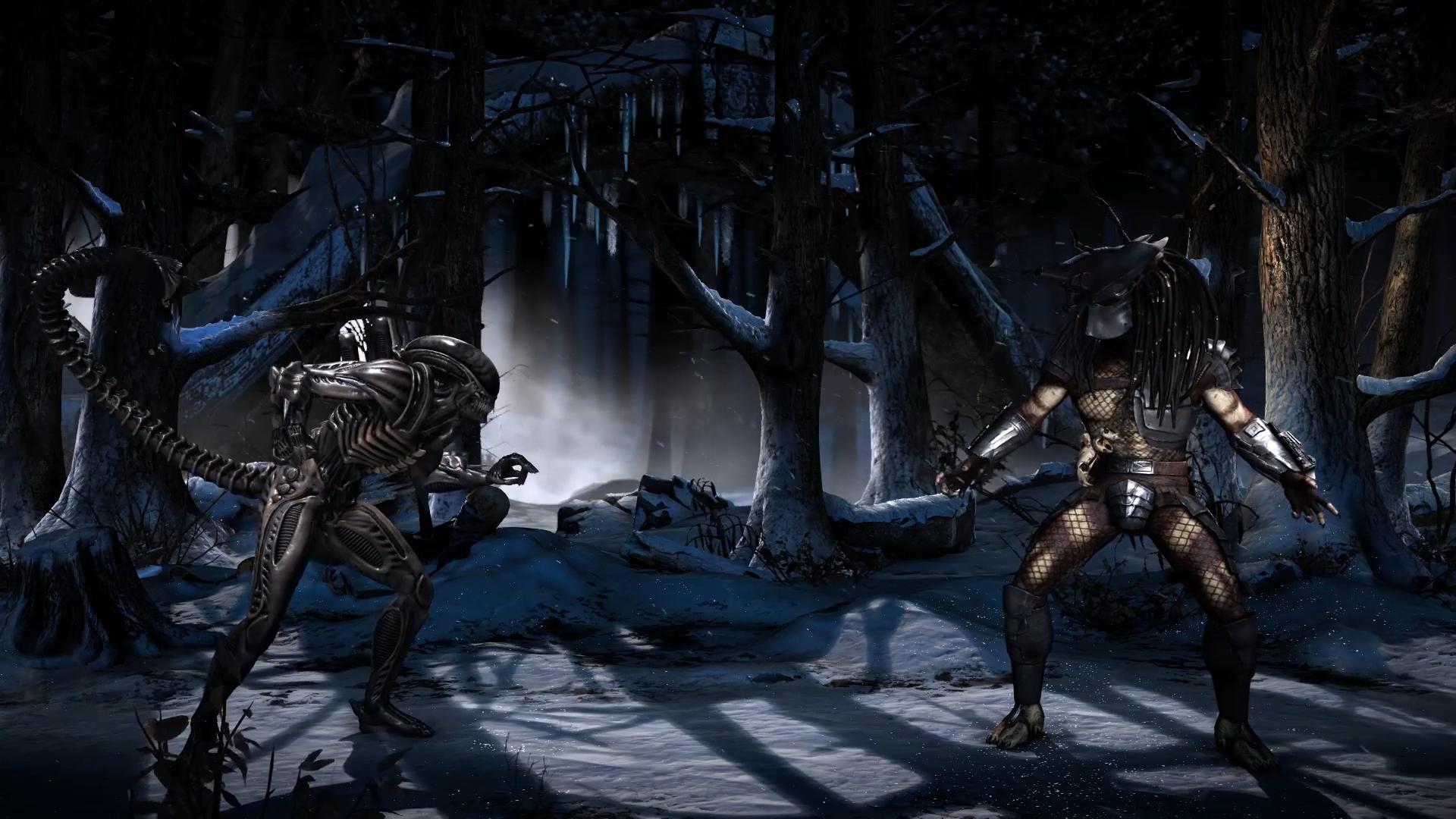 Alien vs Predator Mortal Combat - живые обои