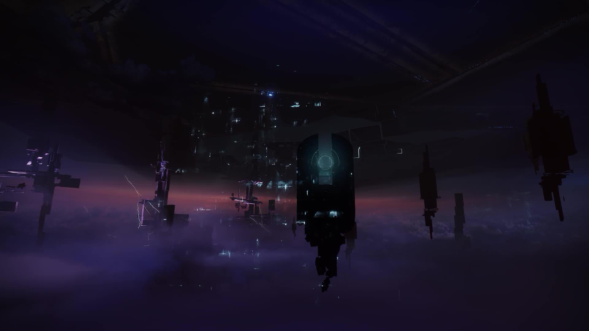 Destiny 2 Haunted Forest - живые обои