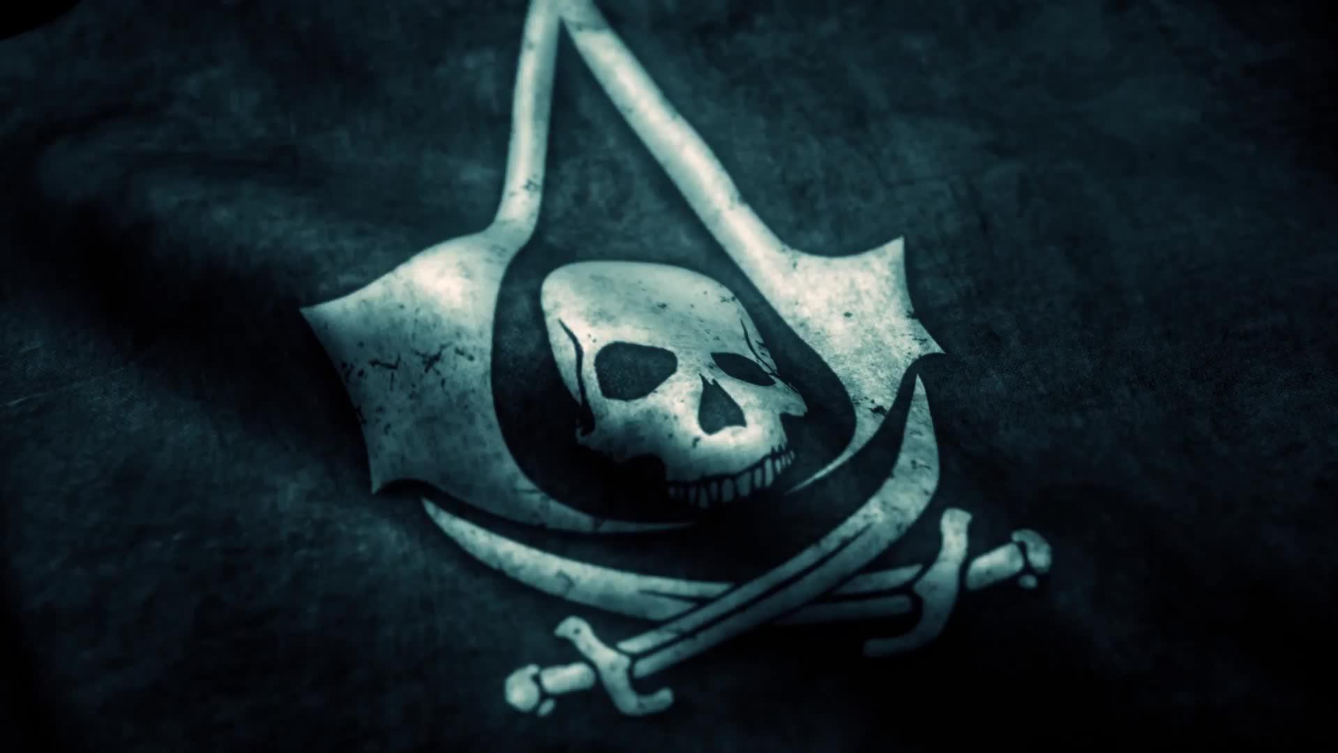 Assassin's Creed флаг - живые обои